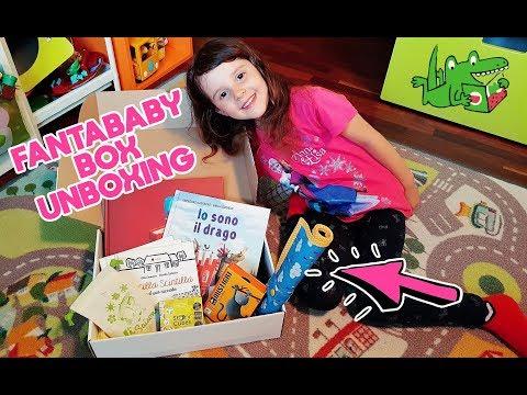 Unboxing FANTABABYBOX! Una scatola a sorpresa con libri e giochi!