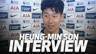 HEUNG-MIN SON ON SCORING FIRST PREMIER LEAGUE GOAL AT NEW STADIUM | Spurs 2-0 Crystal Palace