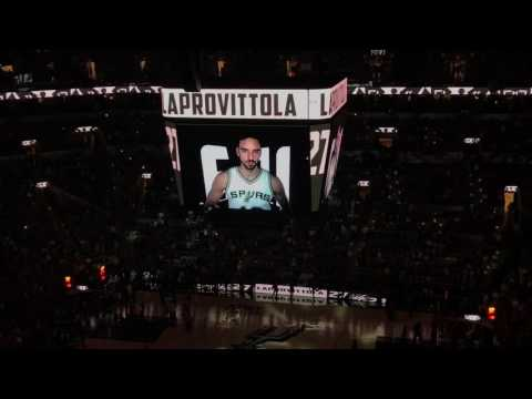 San Antonio Spurs 2016 - 2017 Regular Season Intro 10-29-16