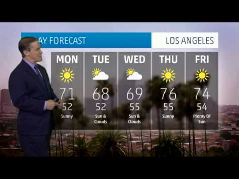 Los Angeles' Weather Forecast For December 30, 2013