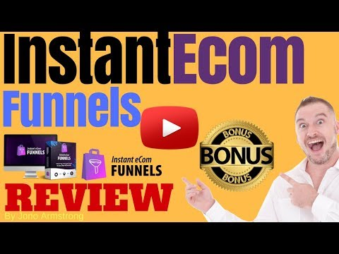 Instant eCom Funnels Review ⚠️WARNING⚠️ DON'T BUY INSTANT ECOM FUNNELS WITHOUT MY . http://bit.ly/30DPdQ3