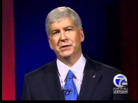 Debate: Candidates for Michigan Governor