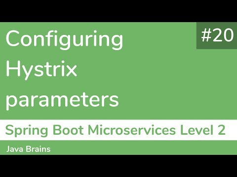 20-configuring-hystrix-parameters---spring-boot-microservices-level-2