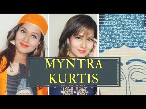 1efbaccbefb1 Myntra kurtis....gorgeous yet affordable - YouTube