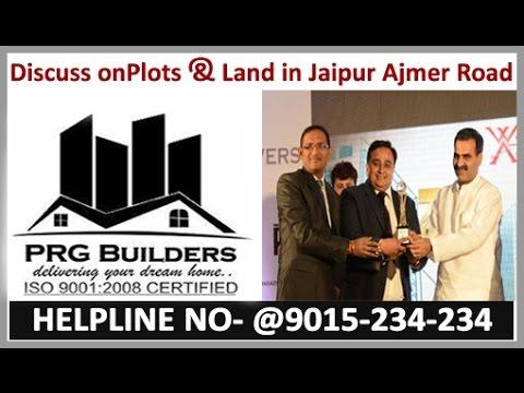 builders in jaipur #PRGBUILDERS (Plots & Land in Jaipur Ajmer Road) on FM92.7