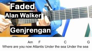Belajar Gitar Faded Alan Walker (Genjrengan) Belajar Kunci Gitar Untuk Pemula