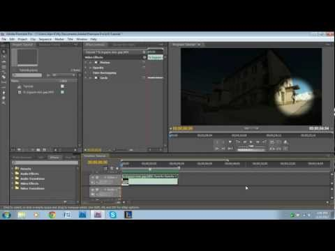 Spotlight Effect Tutorial - Adobe Premiere Pro
