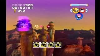 Sonic Heroes: Bullet Station (Team Rose)
