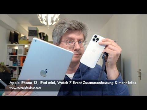 Download Apple iPhone 13, iPad mini, Watch 7 Event Zusammenfassung & mehr Infos