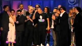 Así cortaron a René de Calle 13 en los Latin Grammy 2011 cuando dijo NO A LA PAYOLA