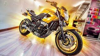 Minha Moto Agora É De Ouro !