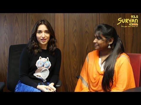 Tamannaah Interview - Deepavali Special | RJ Navalakshmi | Suryan FM Chennai