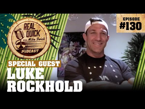 "Luke Rockhold Is Back! ""No one in the top 10 will fight me!"" Video & Timestamps..."