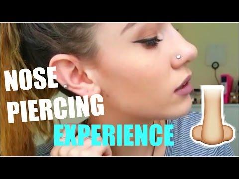 I GOT A NOSE PIERCING?! (Pain, Pricing, Healing & Experience)