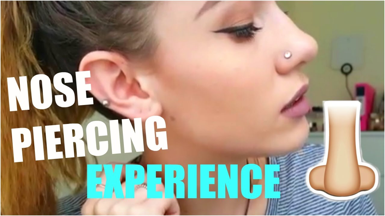 I Got A Nose Piercing Pain Pricing Healing Experience Youtube
