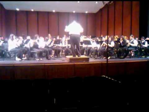 Hayward Middle School District Concert Rehearsal