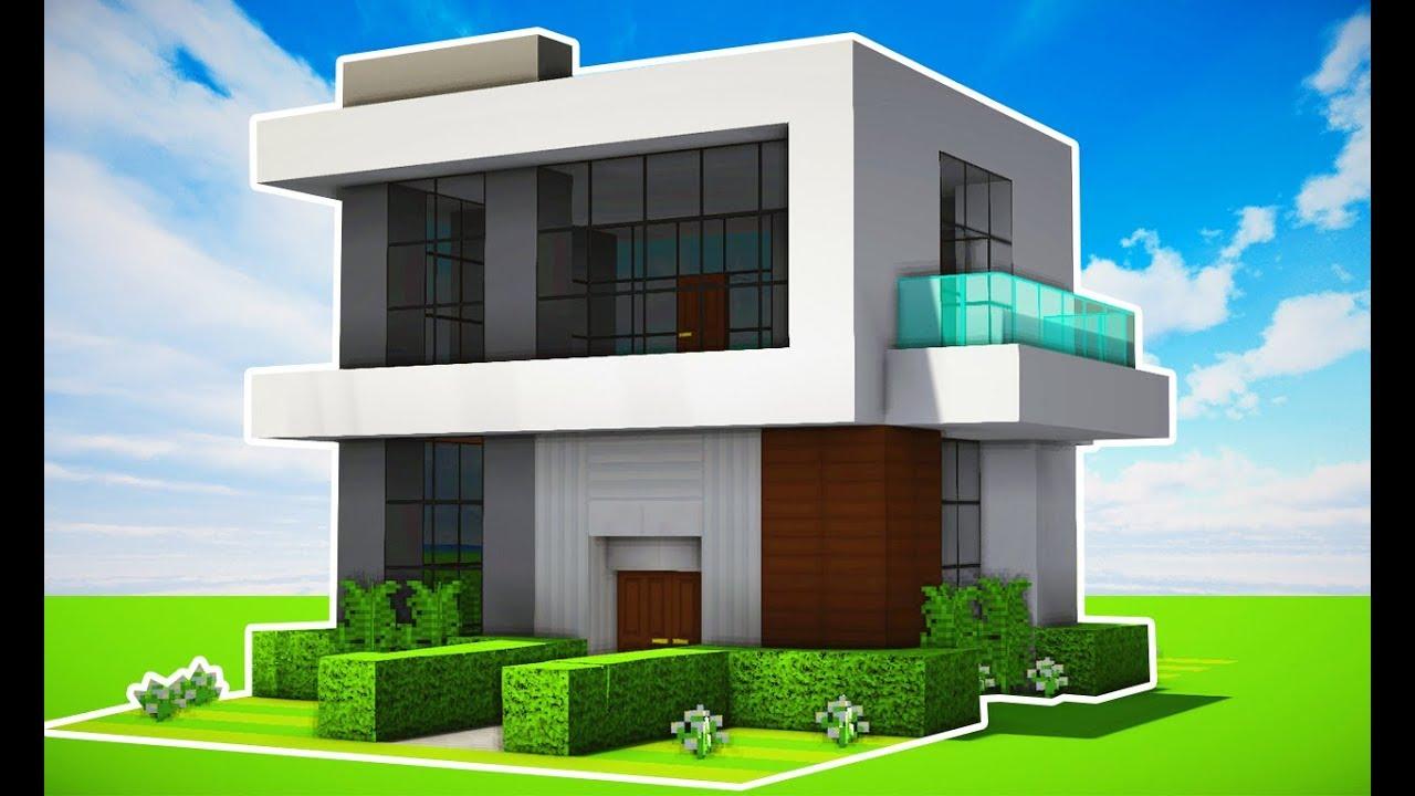 Minecraft Como Fazer Uma Casa Moderna Realista Ft