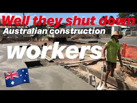 Should They Shut Down The Australian Construction Industry