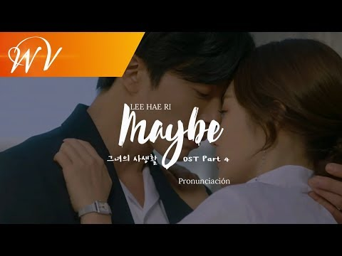 Lee Hae Ri (Davichi) - Maybe / Letra [Pronunciación Fácil][Her Private Life OST Part 4]