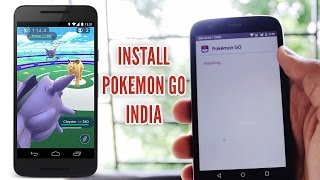 How to Download and Install Pokemon Go in India and Other Countries | Pokemon Go APK Android