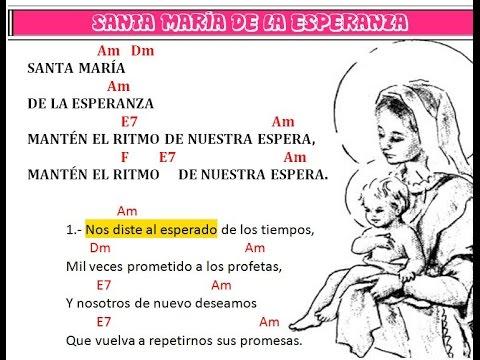 SANTA MARIA DE LA ESPERANZA (EN GUITARRA)