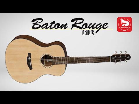 Доступная акустическая гитара BATON ROUGE L1LS/F