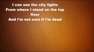 Ed Sheeran Feat Naughty Boy - Top Floor (Lyrics on screen)