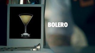 BOLERO DRINK RECIPE - HOW TO MIX