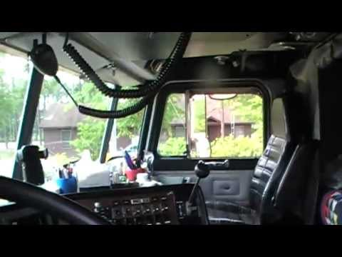 362 peterbilt cabover interior - YouTube