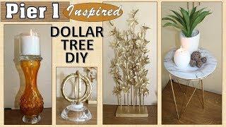 Pier 1 Inspired | Dollar Tree DIY | Home Decor DIY