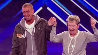 The X Factor UK 2012 Incredibly Nervous Man Blows Audience Away