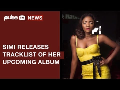 Simi's 'Simisola' Album Cover, Track List Have Been Released | Pulse TV News