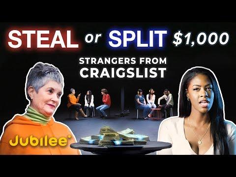 Will Strangers From Craigslist Agree to Split $1000?