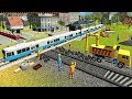 Indian Train City Drive Road Construction Sim - Railroad Builder Simulation 2018 - Android GamePlay