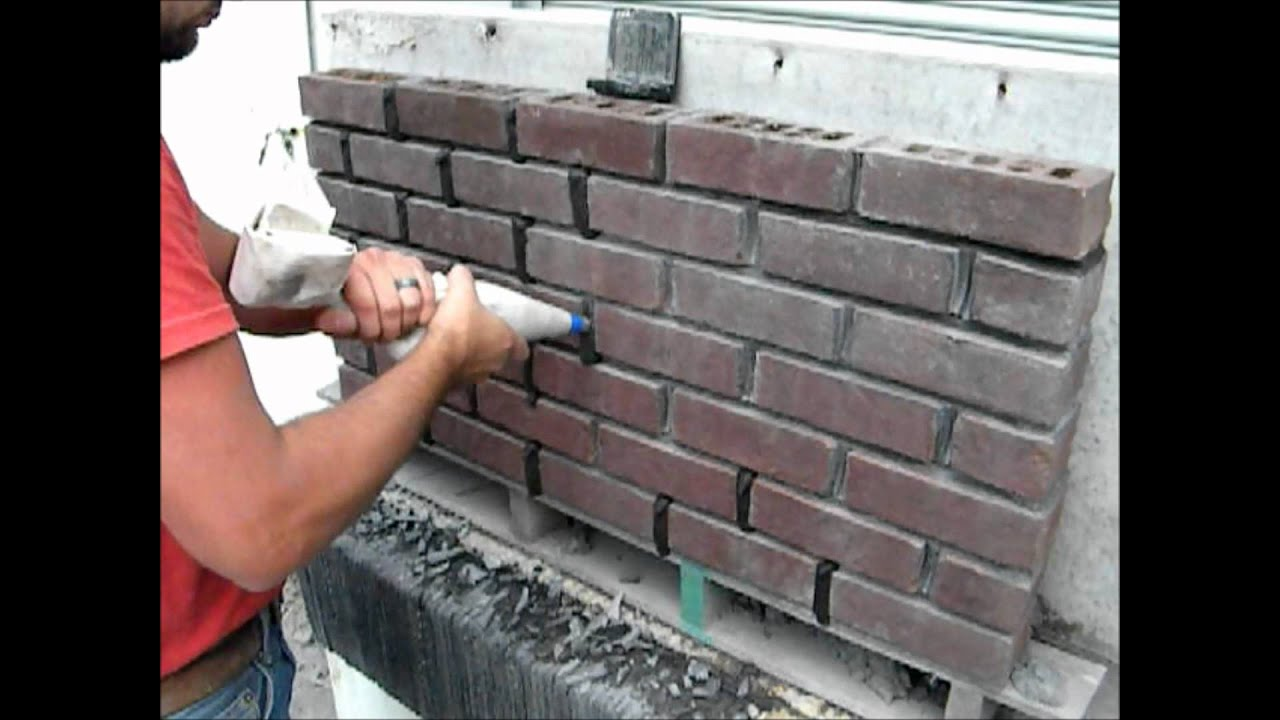 easy tuck point using a masonry grout bag youtube
