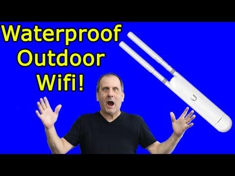 Outdoor Waterproof Wifi! Ubiquiti Unifi AP AC Mesh System Unboxing