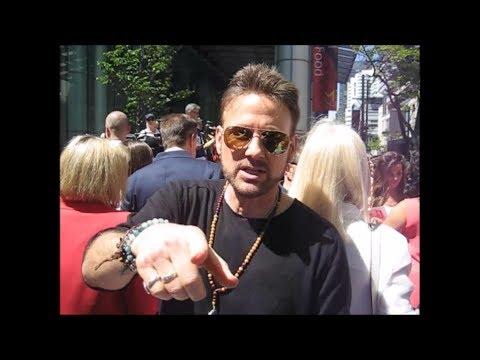 Corey Hart's Walk of Fame Star Unveiling