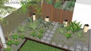 Garden Design Concepts. Landscape Design New Zealand.