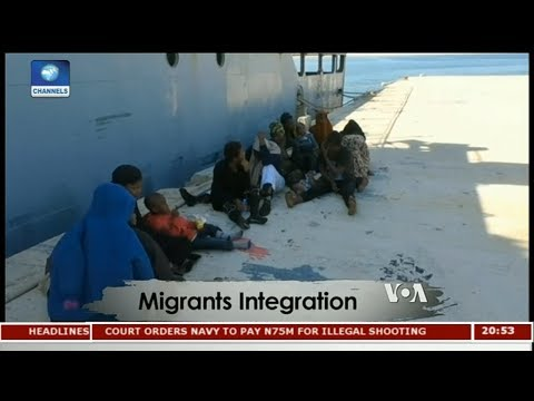 African Migrants Settle In Libya, Abort Journey to Europe | Africa 54 |