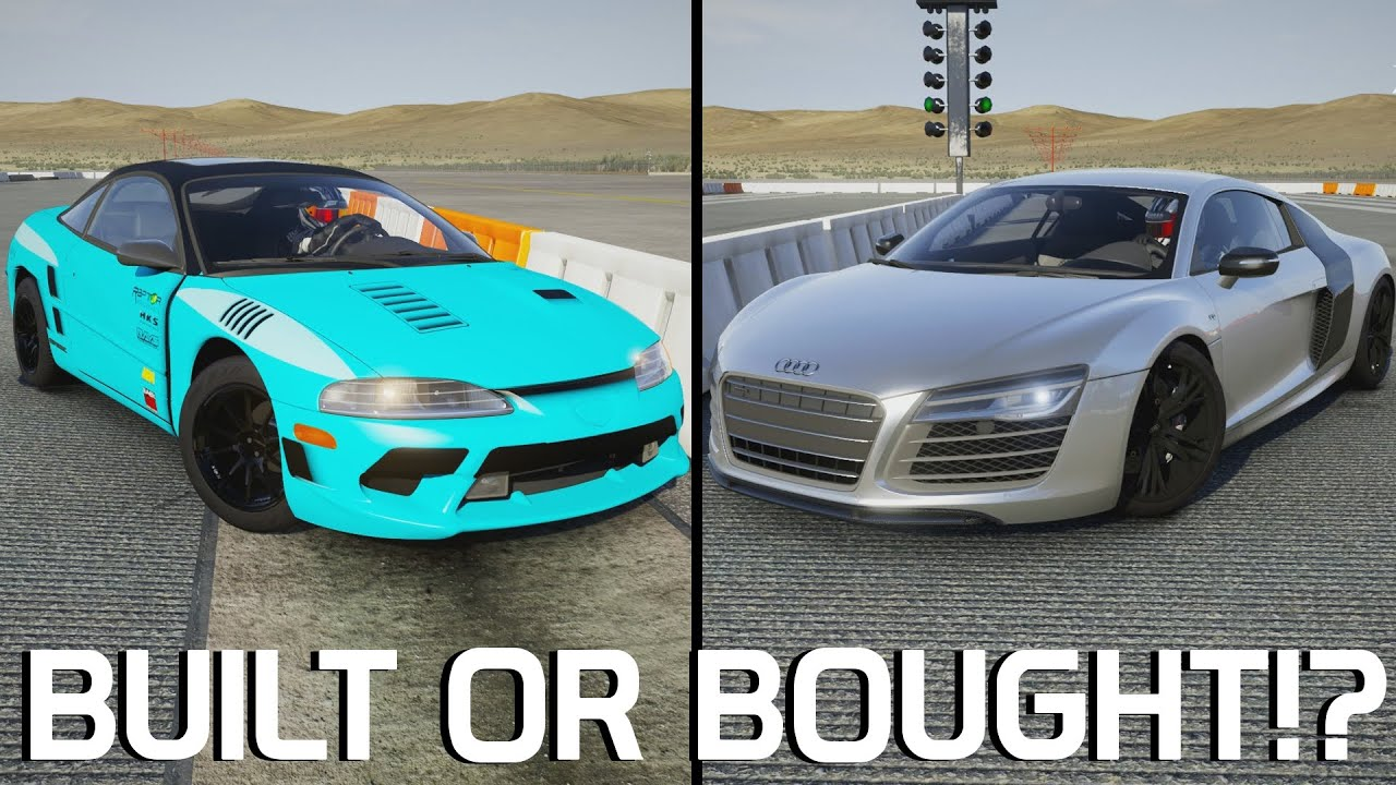Built Or Bought Eagle Talon Vs Audi R8 Forza 6