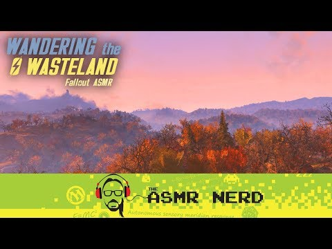 Wandering the Wasteland | Fallout 76 ASMR (whispering, rain, relaxing sounds for sleep) thumbnail