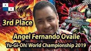 3rd place Angel Fernando Ovalle | Yu-Gi-Oh! World Championship 2019 Berlin