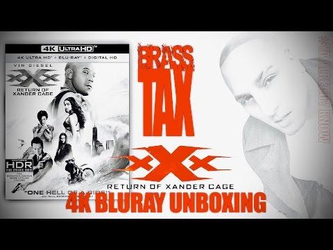 XxX: The Return Of Xander Cage 4K Bluray Unboxing @Brasstax streaming vf