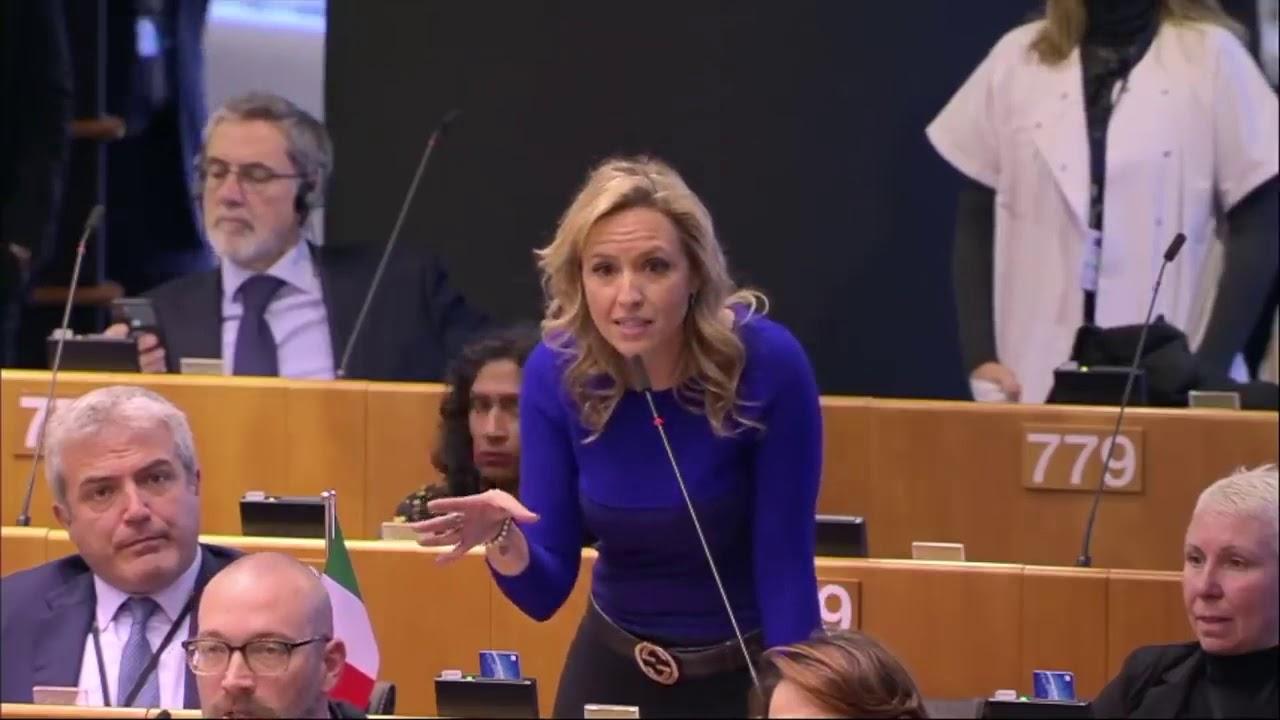 EU Green deal DESTROYED by Italian MEP Silvia Sardone - YouTube