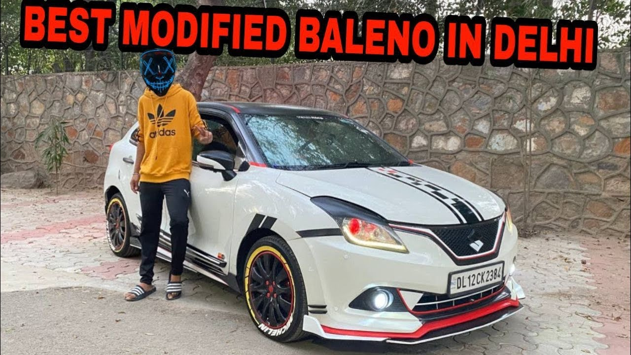 Best baleno modified in INDIA | Only one In DELHI | BALENO Delta Modification | MODIFIED BALENO