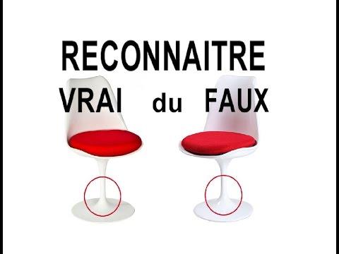 DIY & TUTO reconnaître siège vintage Tulip Knoll design Saarinen vrai du faux
