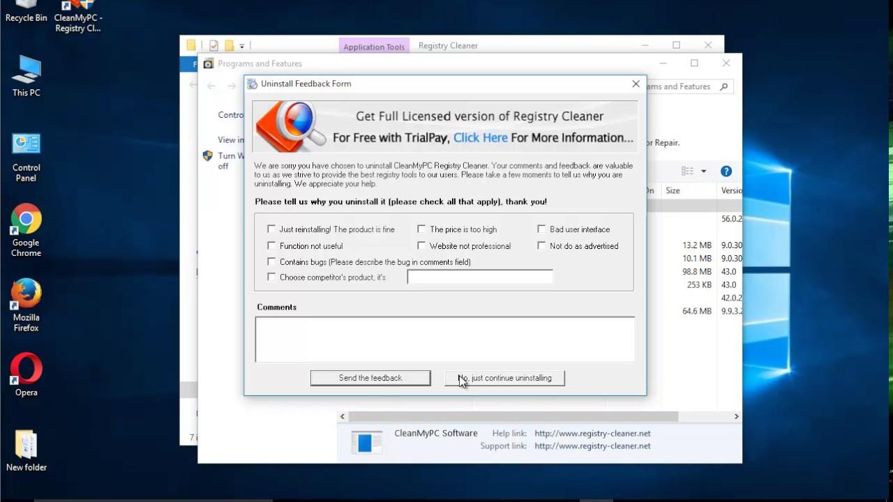 how to clean registry windows 10 manually