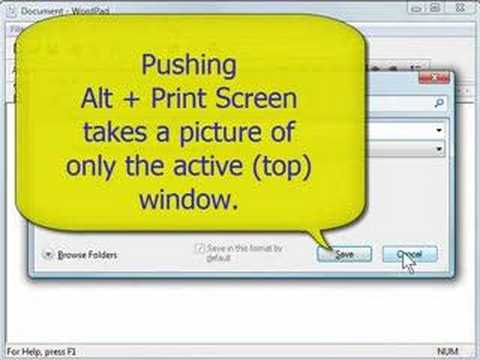 Save Time With The Print Screen Button