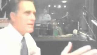 Mitt Romney gets angry with a Radio Host off air about his Faith