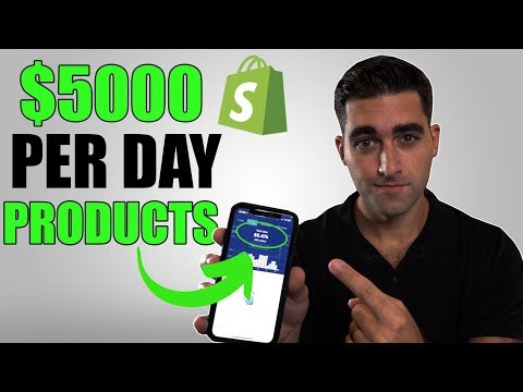 TOP $5K Per Day Winning Products For Shopify Dropshipping | Sell These NOW thumbnail